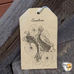 Amulette en bois